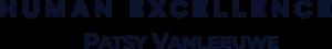 Human Excellence – Patsy Vanleeuwe Logo